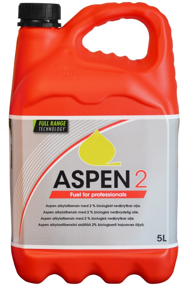 Aspen 2 - Alkylatbenzin - Miljøbenzin