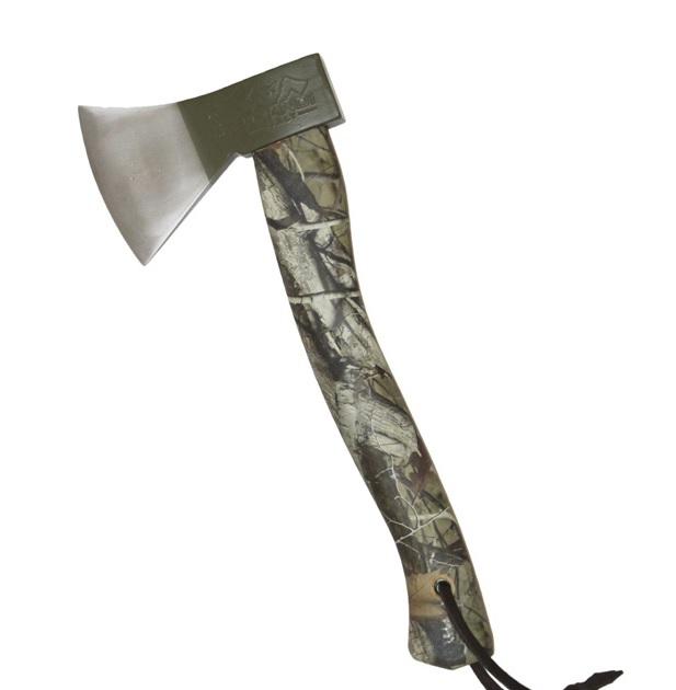 Prandi German Style Økse m/ Camouflagelook
