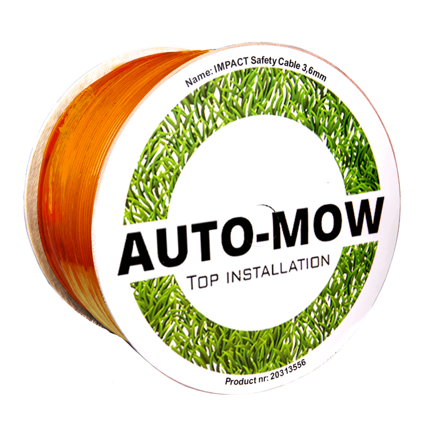 Auto-Mow 3,4 mm. Orange Standard kantkabel (500m)