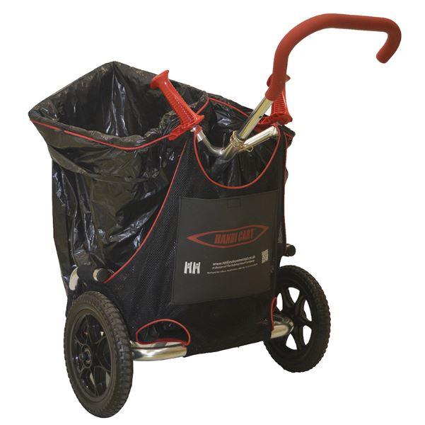 Haps Handy vogn – Rengørings vogn til gaden