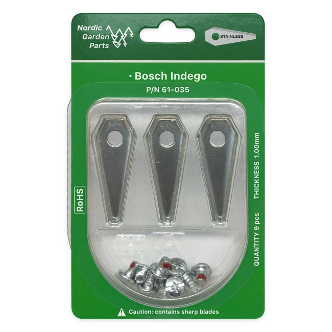 Bosch stål kniv til robotklipper (45 stk.)