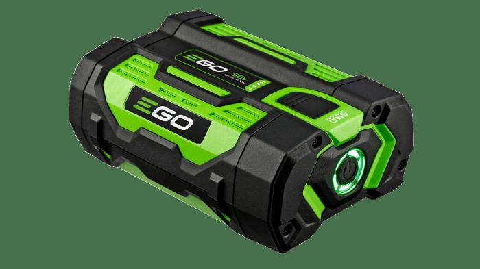 Ego power+ 5.0 Ah. Lithium Batteri